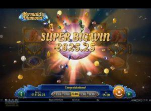 Mermaid's Diamond slotmaskinen SS-11