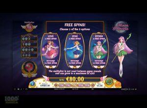 Moon Princess slotmaskinen SS-11
