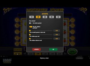 Mystery Joker slotmaskinen SS-01
