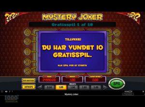 Mystery Joker slotmaskinen SS-04
