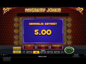 Mystery Joker slotmaskinen SS-10