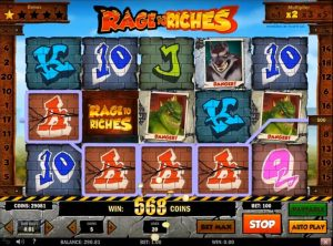Rage to Riches slotmaskinen SS-04
