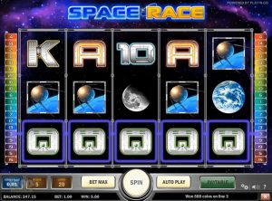 Space Race slotmaskinen SS-02
