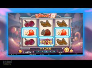 Sweet 27 slotmaskinen SS-03