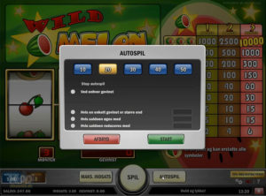 Wild Melon slotmaskinen SS-02