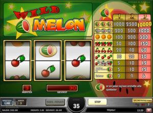 Wild Melon slotmaskinen SS-03
