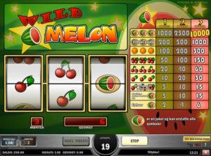 Wild Melon slotmaskinen SS-07