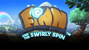 Her kan du spille Finn and the Swirly Spin fra NetEnt