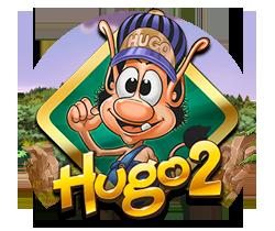 Hugo 2 Spilleautomat - gamelogo