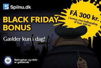Black Friday 2018 hos Spilnu.dk