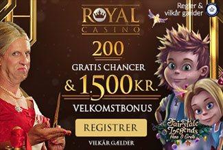 Ny velkomstbonus hos Royal Casino i marts 2018