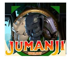 Jumanji spilleautomat fra Netent
