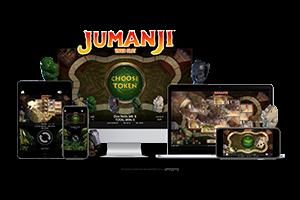 Jumanji spil på mobil og tablet