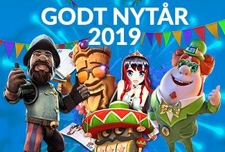 1000Freespins.dk - Godt nytår 2019!