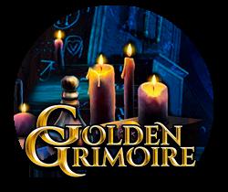 Golden Grimoire Slotmaskine - logo