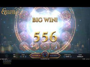 Golden Grimoire Spilleautomat - Skærmbillede 3