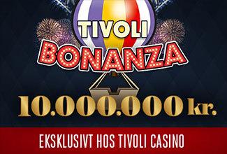 Tivoli Bonanza Jackpot på over 10 millioner kroner