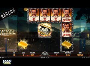 Narcos Spilleautomat - skærmbillede 2