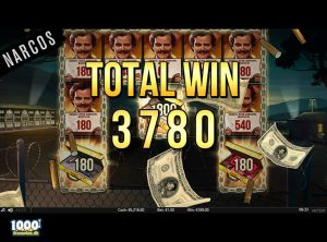Narcos Spilleautomat - skærmbillede