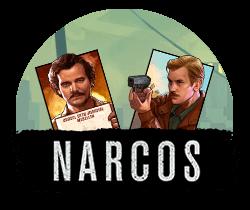 Narcos Spilleautomat - feat. logo