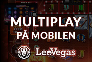 Ny MultiPlay funktion hos LeoVegas
